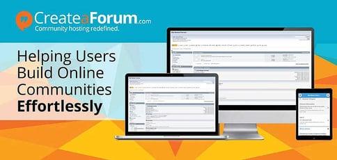 Create A Forum Helps Users Build Online Communities Effortlessly