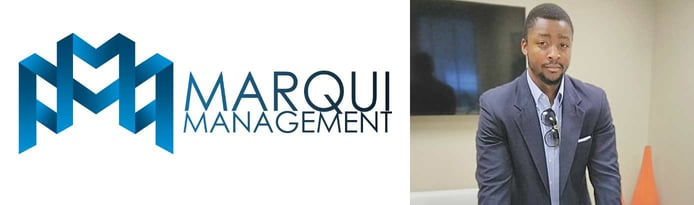 Photo of Marqui Management Founder D'Vaughn Bell