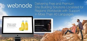 Webnode: Delivering Free and Premium Site Building Solutions Localized for Regions Worldwide with Support in More Than 40 Languages