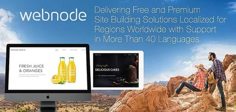 Webnode Delivers Localized Site Building Solutions