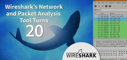 The Wireshark Network And Packet Analysis Tool Turns 20