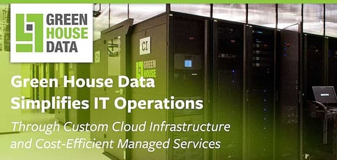 Green House Data Simplifies It Operations