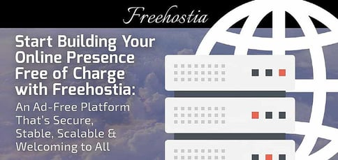 Freehostia Is An Ad Free Platform Thats Secure Stable And Scalable