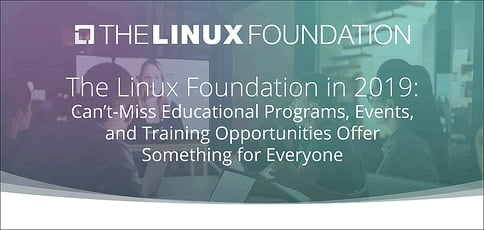 The Linux Foundation Offers Cant Miss Education Events And Training