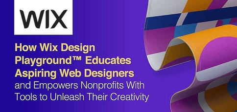 Wix Design Playground Educates Designers And Empowers Nonprofits