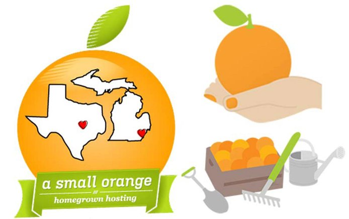 Image of A Small Orange graphics about support and datacenters