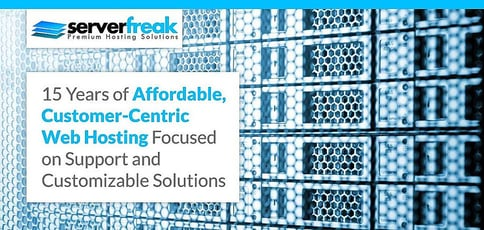 Serverfreak 15 Years Of Affordable Customer Centric Web Hosting