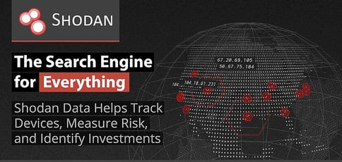 How Shodan Helps Enterprises, Investors, and Security Professionals Track Devices, Measure Risk, and Identify Opportunities