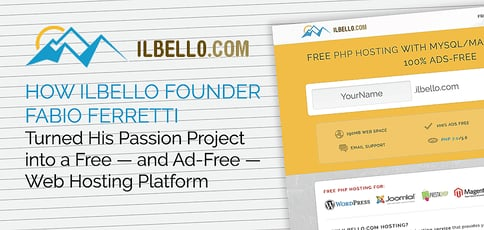 How ilbello Founder Fabio Ferretti Turned His Passion Project into a Free — and Ad-Free — Web Hosting Platform