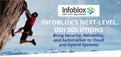 Infoblox Delivers Next Level Ddi Solutions