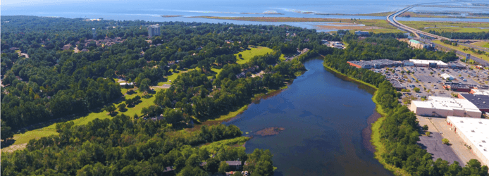 Image of aerial view of Daphne, Alabama