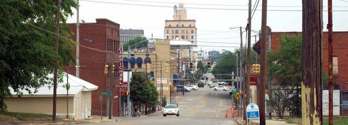 Image of downtown Dothan, Alabama