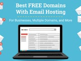 13 Best: Free Domain With Email Hosting (2020) - Cheap & Business