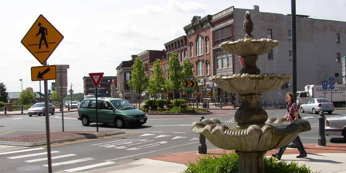 Image of downtown Glens Falls, New York