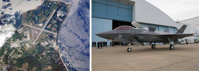 Images of Lexington Park's Patuxent River Naval Air Station