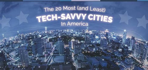 Most And Least Tech Savvy Cities
