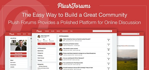 Plush Forums Provides A Polished All In One Platform