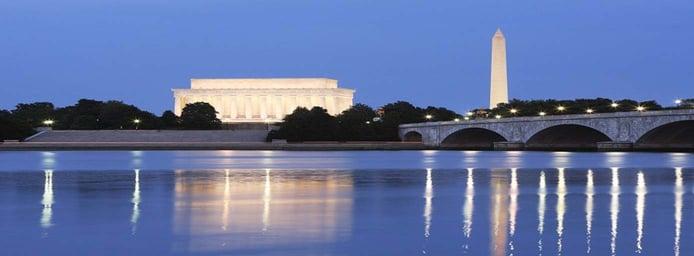 Image of Memorial Bridge in Washington, D.C.