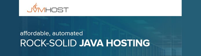 JVM Host logo and website banner