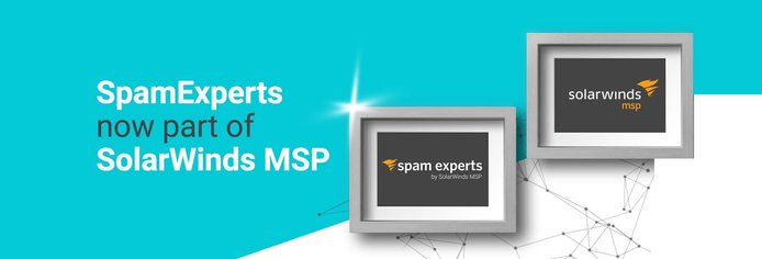 SpamExperts now part of SolarWinds MSP