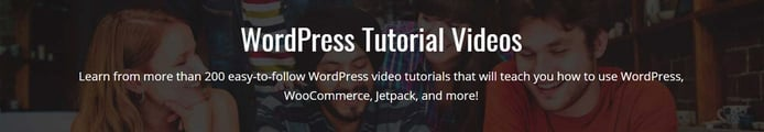 WP101 tutorial video banner