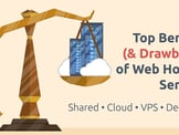 13 Benefits of Web Hosting Services — And 9 Drawbacks (2020)