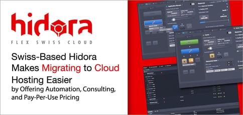 Hidora Makes Migrating To Cloud Hosting Easier