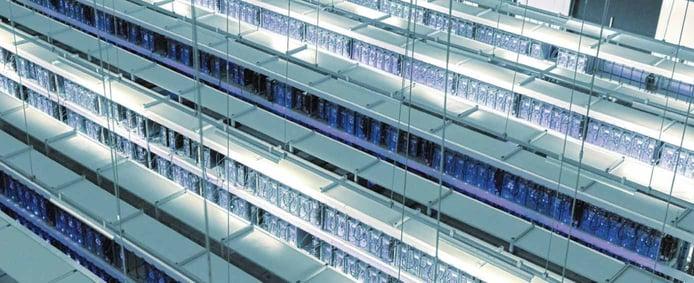 Photo of Hetzner datacenter