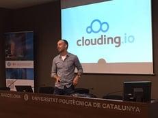 Photo of Clouding.io CEO Xavier Trilla