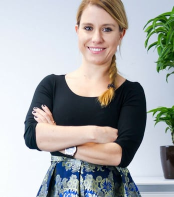 Photo of Barbara Soltysinska, indaHash Co-Founder and CEO