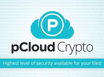 Screenshot of pCloud Crypto