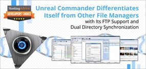 Unreal Commander Differentiates Itself from Other File Managers with Its FTP Support and Dual Directory Synchronization
