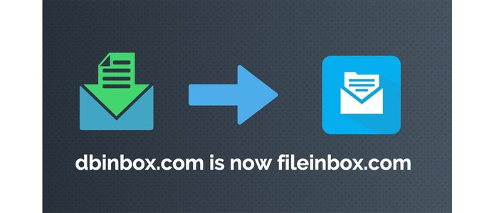Graphics depicting Fileinbox's rebranding