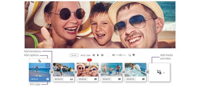 Adobe Sensei's intelligent editing functionality