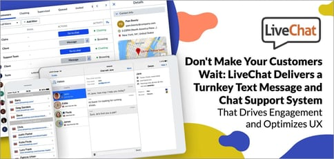 Livechat Offers Turnkey Text And Chat Support
