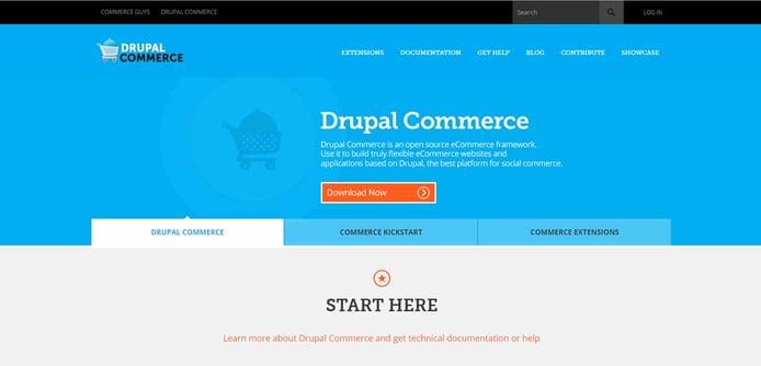 Screenshot of Drupal Commerce