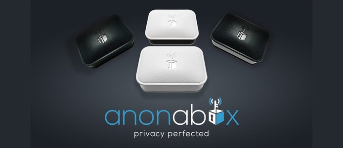 Anonabox logo and devices