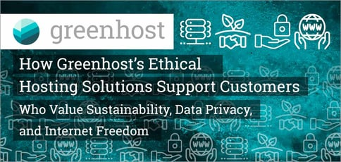 Greenhost Is An Ethical Hosting Provider