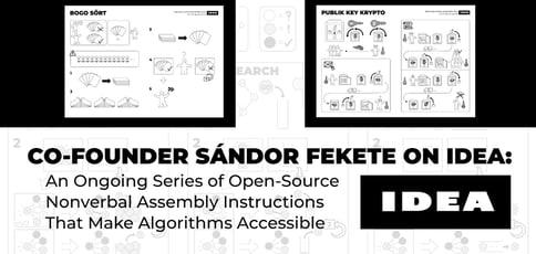 Co-Founder Sándor Fekete on IDEA: An Ongoing Series of Open-Source Nonverbal Assembly Instructions That Make Algorithms Accessible