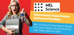 Educational Experiments Delivered Monthly: MEL Science's Subscription Boxes Turn Your Home into a Chemistry Lab That's Safe for Kids