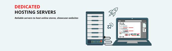 Screenshot of Gnome IT dedicated hosting banner