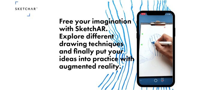 Sketchar logo and imagery