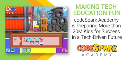 Making Tech Education Fun: codeSpark Academy is Preparing More than 20M Kids for Success in a Tech-Driven Future