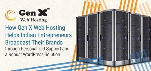 Gen X Web Hosting Helps Indian Entrepreneurs