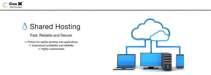 Gen X Web Hosting shared hosting graphic
