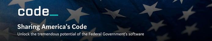Code.gov banner