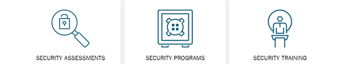 Security assessments, programs, and training