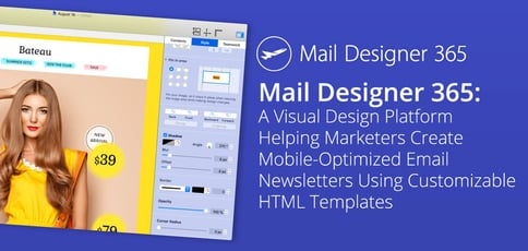 Mail Designer 365 Makes It Easy To Create Responsive Newsletters