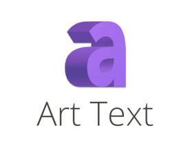 Art Text logo