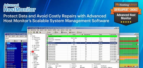 Protect Data and Avoid Costly Repairs with Advanced Host Monitor's Scalable System Management Software
